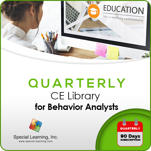 CE Library for Behavior Analysts (3-Month Access): image 1