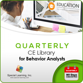 CE Library for Behavior Analysts (3-Month Access)