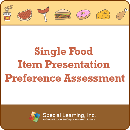 Preference Assessment for Single Food Item: image 1