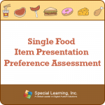 Preference Assessment for Single Food Item