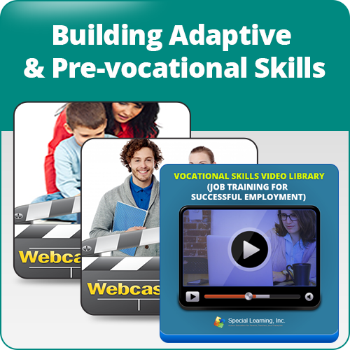 Building Adaptive and Pre-vocational Skills Bundle: image 1