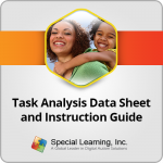 Task Analysis Data Collection Sheet And Instruction Guide