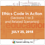 Ethics Code in Action: Sections 1.0 to 3.0 Ethics of Fraudulent Billing (RECORDED)