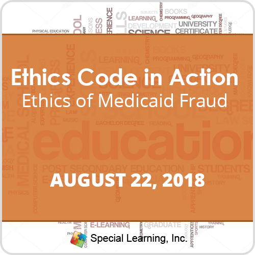 Ethics of Medicaid Fraud with Jon Bailey, PhD, BCBA-D (RECORDED): image 1