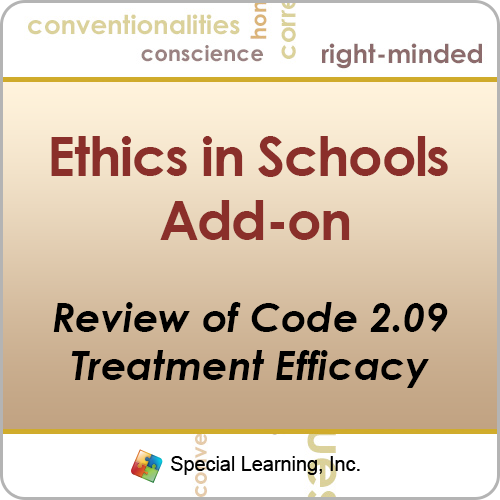Review of Code 2.09: How to Maintain Treatment Efficacy in Schools (Recorded): image 1