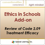 Review of Code 2.09: How to Maintain Treatment Efficacy in Schools (Recorded)