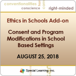 Consent and Program Modifications in School Based Settings (RECORDED)