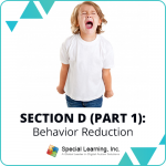RBT® 40-Hour Online Training Course Module 11: Section D (Part 1)- Behavior Reduction