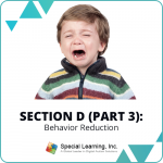 RBT® 2.0 40-Hour Online Training Course- Module 13: Section D (Part 3)- Behavior Reduction