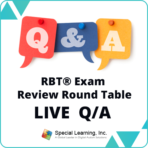 LIVE RBT® Exam Review Round Table: Ask the BC(a)BA® LIVE Q & A (December 4, 2018): image 1