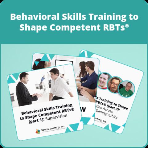 Live Behavioral Skills Training to Shape Competent RBTs® Bundle: image 1