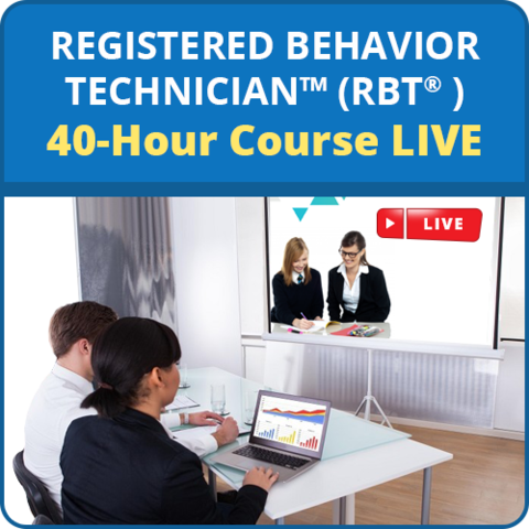 LIVE RBT 40-Hour Online Training Course Series: image 1