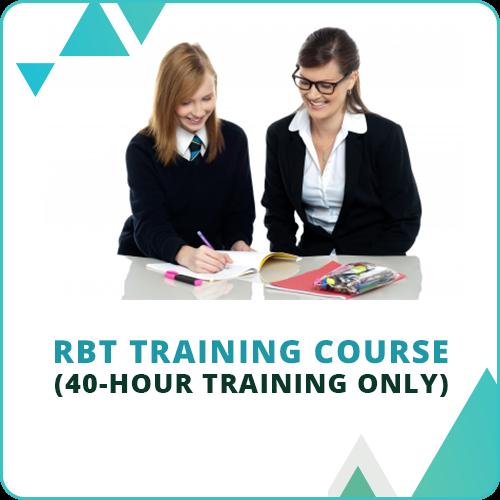 40-Hour RBT Online Training Course: image 1