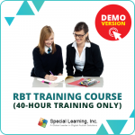 DEMO Course: RBT 2.0 Online Training Course