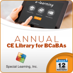 LEVEL 1 CE Library for BCaBAs (ANNUAL Subscription)