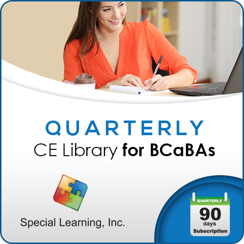 QUARTERLY CE Library for BCaBAs: image 1