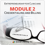 Entrepreneurship for Clinicians: Credentialing and Billing (12/4/2018)