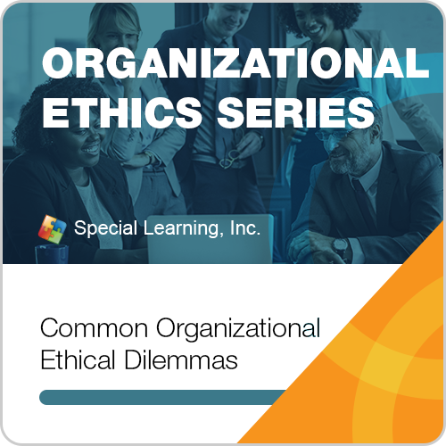 Organizational Ethics & OBM Webinar Series-Module 1: Common Organizational Ethical Dilemmas: image 1