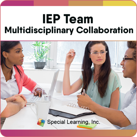 Multidisciplinary Collaboration Series- Module 1:  IEP Team Multidisciplinary Collaboration (RECORDED): image 1