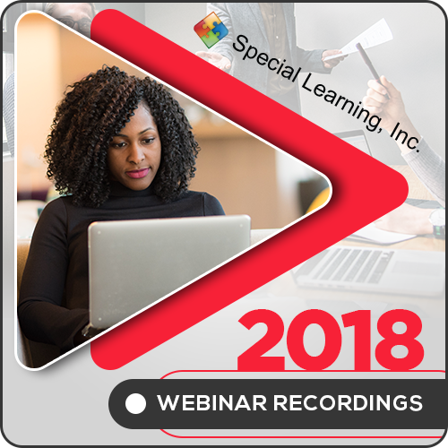 2018 LIVE Webinar Recordings Library (ANNUAL Subscription): image 1