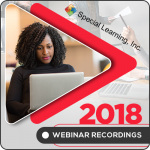 2018 LIVE Webinar Recordings Library