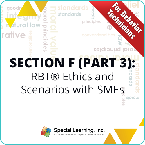 RBT® Ethics Code & Scenarios-Q & A (for RBTs) with Dr. Jon Bailey BCBA-D (RECORDED): image 1