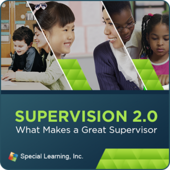 Supervision Webinar Training Series: What Makes a Great Supervisor (Recorded)