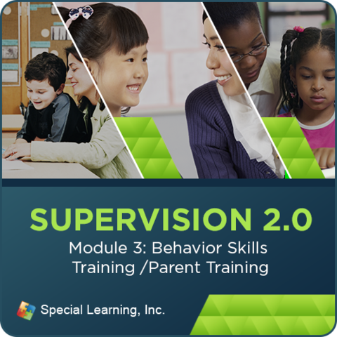 Supervision Webinar Training Series- Module 3: Behavioral Skills Training & Parent Training (RECORDED): image 1