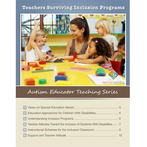 Teachers Surviving Inclusion Programs- Autism Educator Teaching Series: image 1