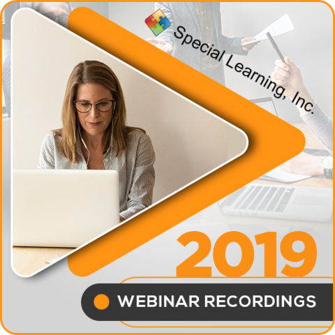 2019 LIVE Webinar Recordings Library (ANNUAL Subscription): image 1