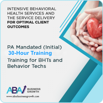 PA (IBHS) Initial Training for BHTs and Behavior Techs (Initial 30 hours): image 1
