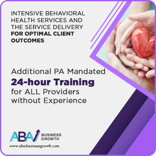 PA (IBHS) Additional 24- hour Training for Providers without History (within 6 months of hire): image 1