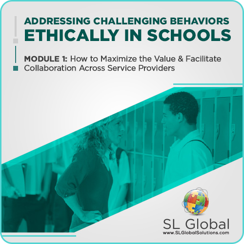 Addressing Challenging Behaviors Ethically in Schools Module 1: How to Maximize the Value and Facilitate Collaboration Across Service Providers (Recorded): image 1