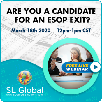 ESOP: Are You a Candidate for an ESOP Exit? (LIVE 3/18/2020)