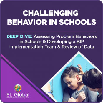 Deep Dive: Assessing Problem Behaviors in Schools and Developing a BIP Implementation Team and Review of Data (RECORDED)