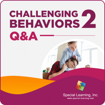 Challenging Behaviors in Schools Q&A II with Dr. Ronnie Detrich (Recorded)