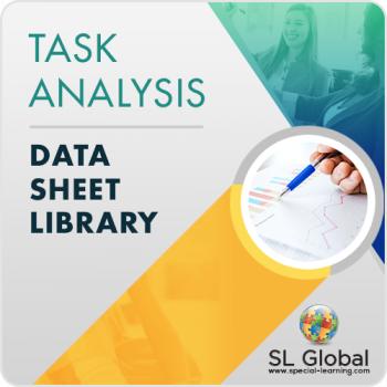 Task Analysis Data Sheet Library