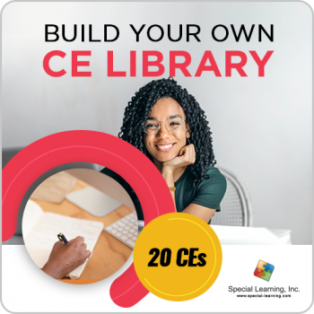 Build Your Own CE Library - 20 CEs (12-Month Access)