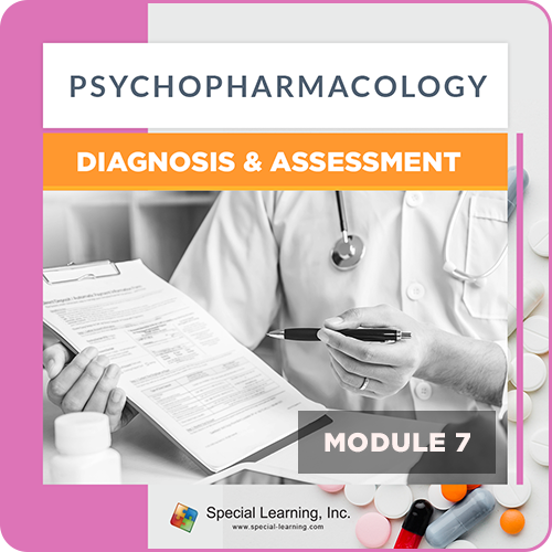 Psychopharmacology Webinar Series Module 7: Psychopharmacology: Diagnosis and Assessment (RECORDED): image 1