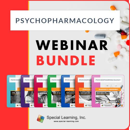 Psychopharmacology Series Bundle (7-part Series): image 1
