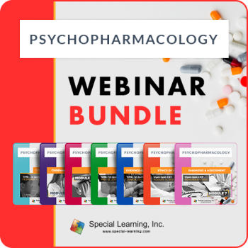Psychopharmacology Series Bundle (7-part Series)