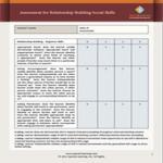 Assessment for Relationship Building Social Skills