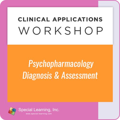 Psychopharmacology: Diagnosis and Assessment [Clinical Applications Workshop] (LIVE 10/14/2021): image 1