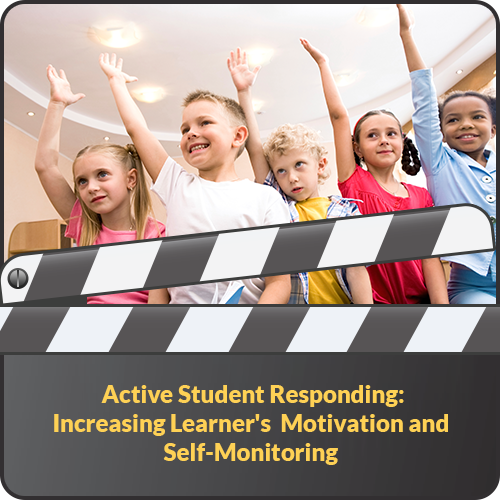 Active Student Responding: Increasing Learner's Motivation and Self-Monitoring: image 1